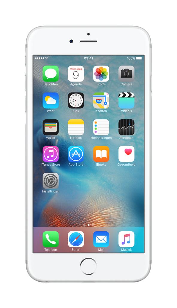 Apple iPhone 6s Plus Single SIM 4G 32GB Silver smartphone