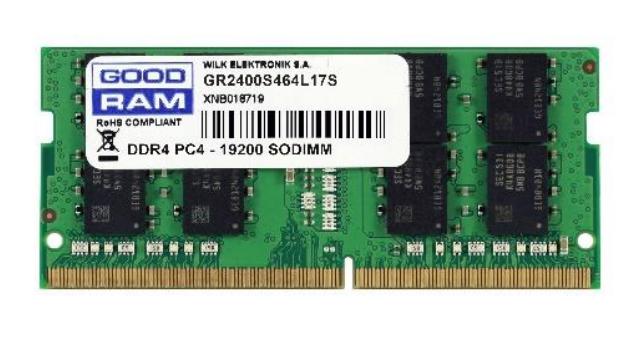 Goodram GR2400S464L17S/8G memory module 8 GB DDR4 2400 MHz