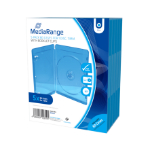 MediaRange BOX38 Blu-ray case 1discs Blue