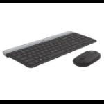 LOGITECH Slim Wireless Keyboard and Mouse Combo MK470 Black