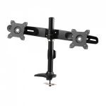 "Amer AMR2P 24"" Bolt-through Black flat panel desk mount"