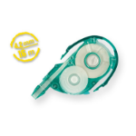 Tombow Mono YXE 16m Green,Transparent,White correction tape