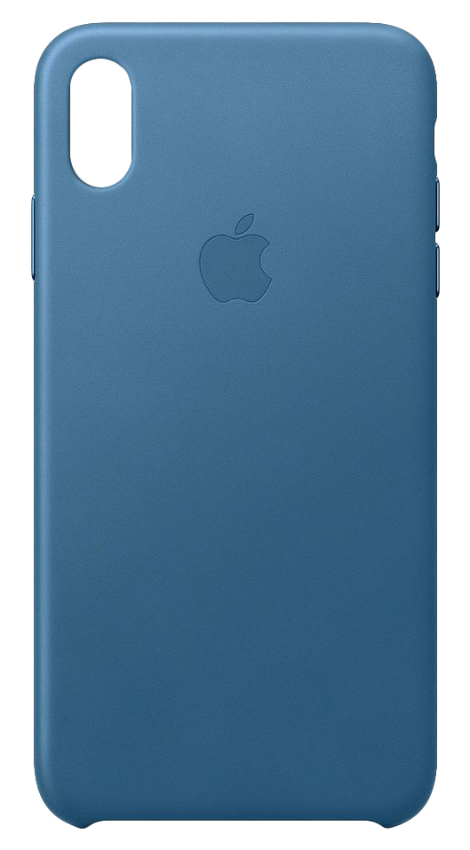 iPhone Xs Max - Leather Case - Cape Cod Blue