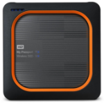 Western Digital My Passport 250 GB Wi-Fi Grau, Orange