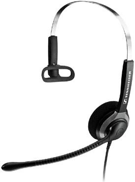 Sennheiser SH 230 IP Monaural Wired Black mobile headset