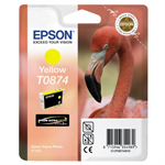 Epson C13T08744010 (T0874) Ink cartridge yellow, 1.16K pages, 11ml
