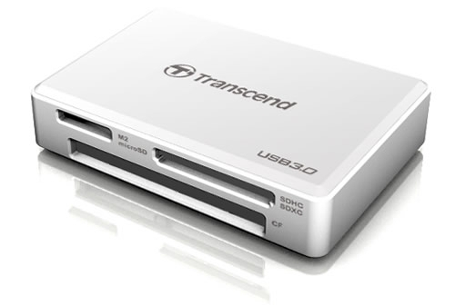 Transcend RDF8 USB 3.0 White card reader
