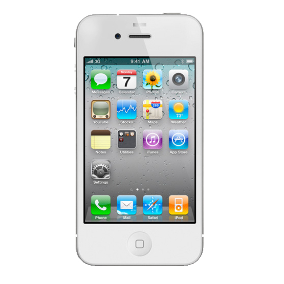 iPhone 4S 16GB Original Apple Celular Desbloqueado WHITE