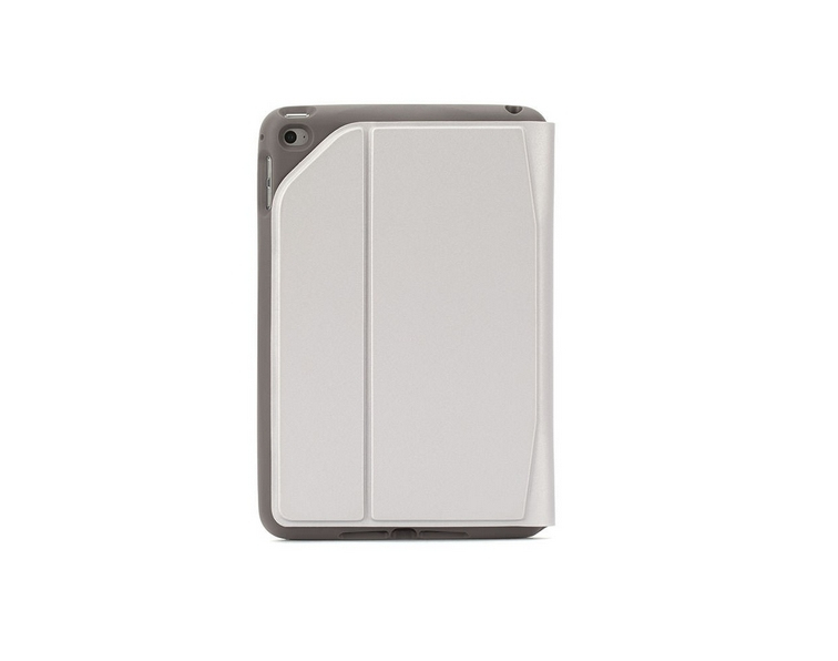 Griffin Survivor Journey Folio - Flip cover for tablet - thermoplastic polyurethane - silver - for A
