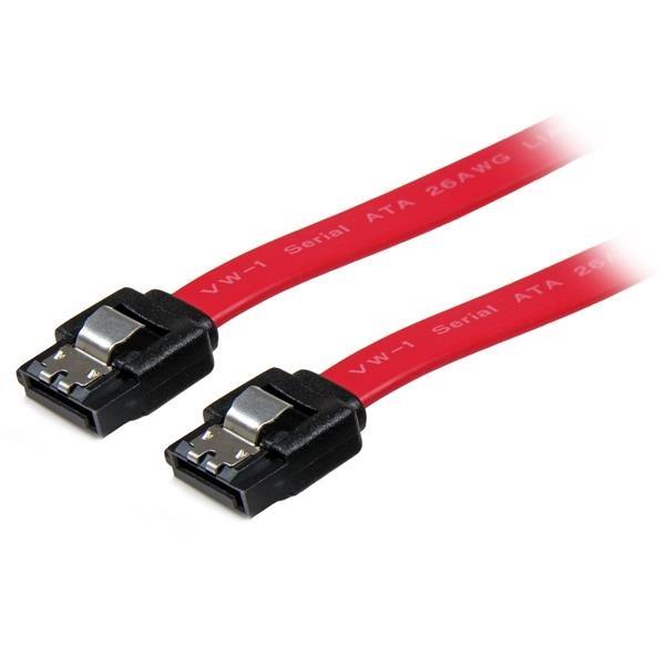 StarTech.com Cable SATA con Cierre de Seguridad a SATA 8 pulgadas -H/H