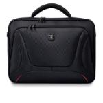 "Port Designs 160512 notebook case 39.6 cm (15.6"") Briefcase Black"
