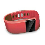 "Billow XSB60 Wristband activity tracker 0.49"" OLED Wireless RedZZZZZ], XSB60R"