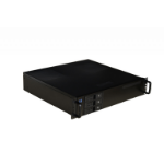 TGC Rack Mountable Server Chassis 2U 380mm Depth, 3x Ext 3.5' Bays, 2x Int 3.5' Bays, 1x Int 2.5' Bay, 4
