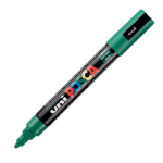 Uni Posca PC-5M Marker Medium Green PK1
