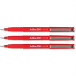 Artline 200 fineliner Red 12 pc(s)