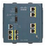 Cisco IE-3000-4TC Managed L2 Fast Ethernet (10/100) Blue network switch
