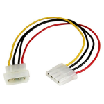 StarTech.com 12in LP4 Power Extension Cable - M/F