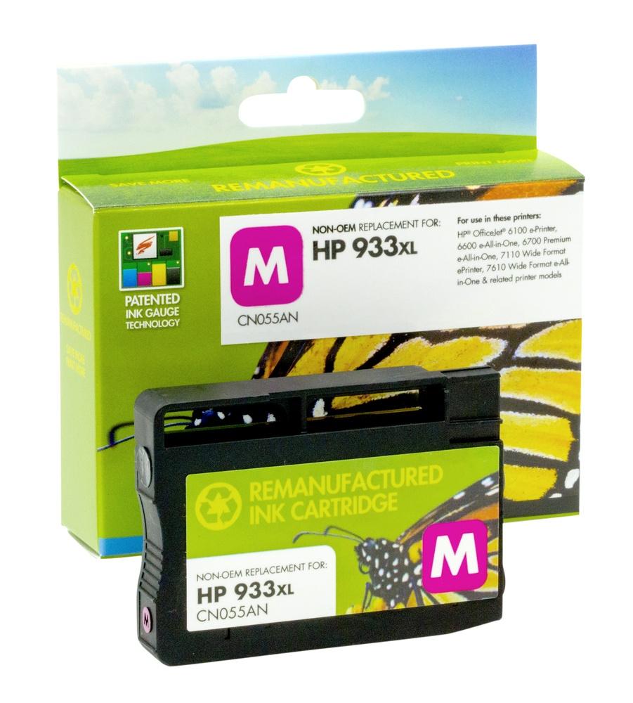 Refilled HP 933XL Magenta Ink Cartridge