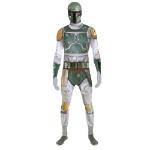 Star Wars Boba Fett Adult Zappar Cosplay Costume Digital Morphsuit, Extra Large, Multi-Colour (MLZBFX-XL)
