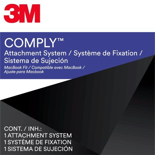 3M COMPLY  Attachment System -For MacBook Computers - Package Purple (Does not include screen).