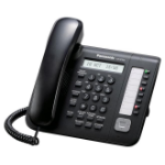 Panasonic KX-NT551 IP phone Black Wired handset LCD
