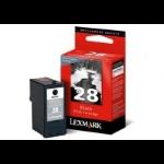 Lexmark No.28 Black Return Program Print Cartridge