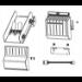 Zebra P1083320-119 pieza de repuesto de equipo de impresión Cortador 1 pieza(s)
