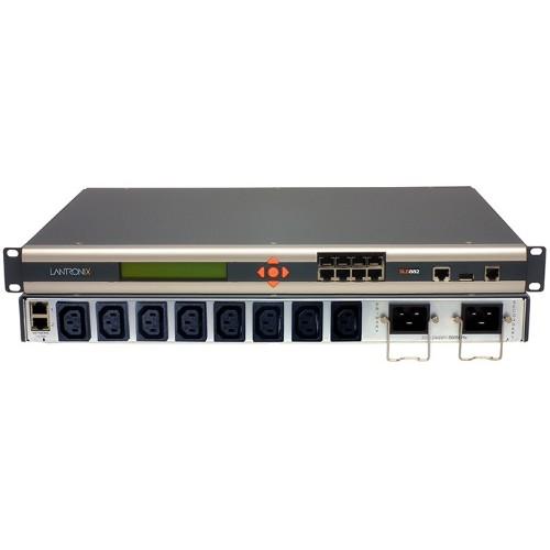 Lantronix SLB8824KIT-WW power distribution unit (PDU) Black,Silver 8 AC outlet(s)