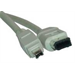 Microconnect FireWire 6P-4P 2m M-M
