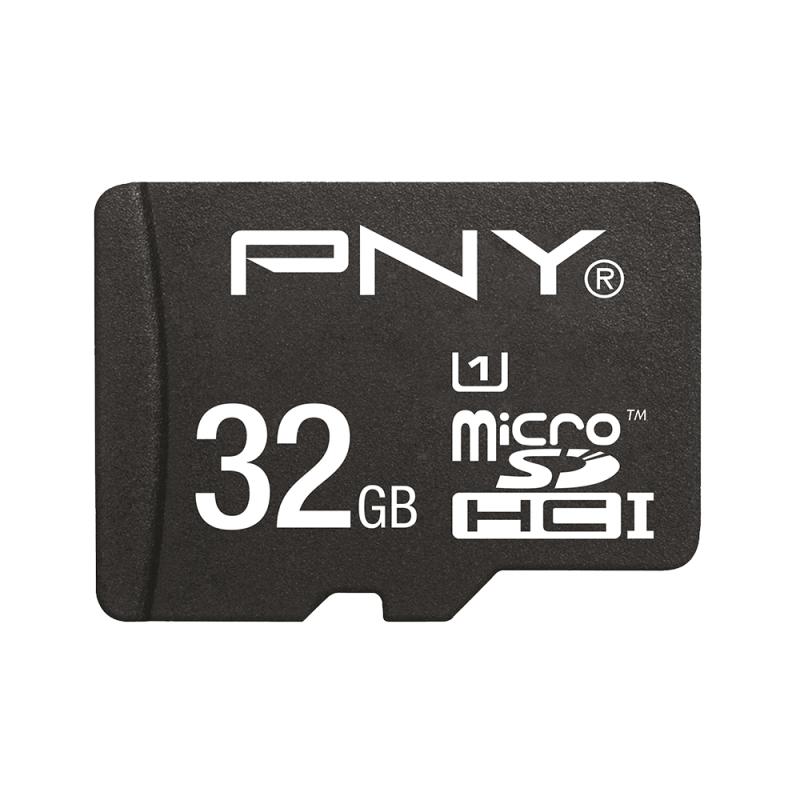 PNY MicroSDHC High Performance Kit 32GB 32GB MicroSDHC UHS-I Class 10 memory card