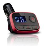 Energy Sistem Car MP3 f2 Racing Red 87.5 - 108MHz Negro, Rojo transmisor FM