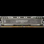 Micron Ballistix Sport LT Gray módulo de memoria 8 GB DDR4 3200 MHz