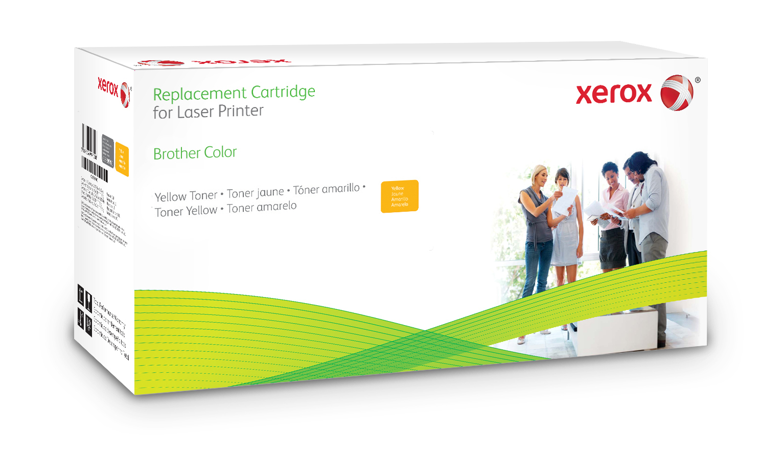 Xerox Gele Toner Cartridge. Gelijk Aan Brother Tn325Y