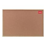 Nobo Classic Cork Noticeboard - Wood Frame 900x600mm