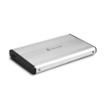 "Dynamode 2.5"" External SATA Hard Disk Enclosure 2.5"" USB powered Silver"