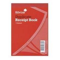 Silvine RECEIPT BK 4X5.25 GUMMED DUP 230