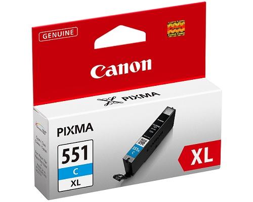 Canon CLI-551XL Original Fotos cian 1 pieza(s)