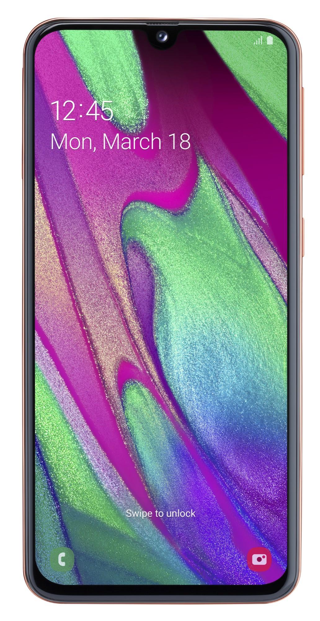 """Samsung Galaxy SM-A405F 15 cm (5.9"""") 4 GB 64 GB Dual SIM 4G Coral 3100 mAh"""