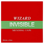 Robinson Young Value Wizard Clear Invisable Tape 19mm X 33m PK8