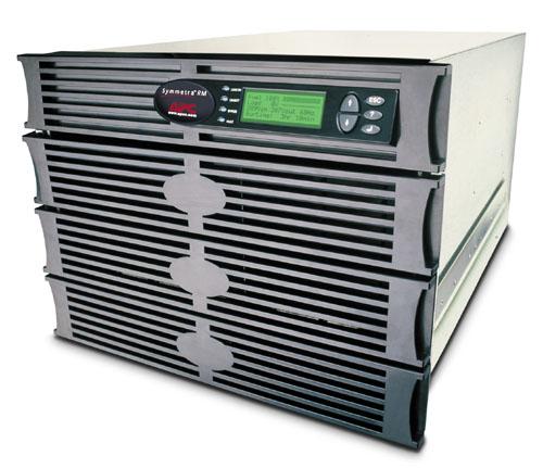 APC Symmetra RM 6kVA exp to 6kVA N+1 uninterruptible power supply (UPS) 6000 VA 4200 W