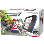 "Nintendo 2DS Mario Kart 7 Bundle 3.53"" Touchscreen Wi-Fi Black, Blue portable game console"