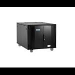 Eaton RXA12712PSBC1E rack 500 kg Freestanding rack 12U Black