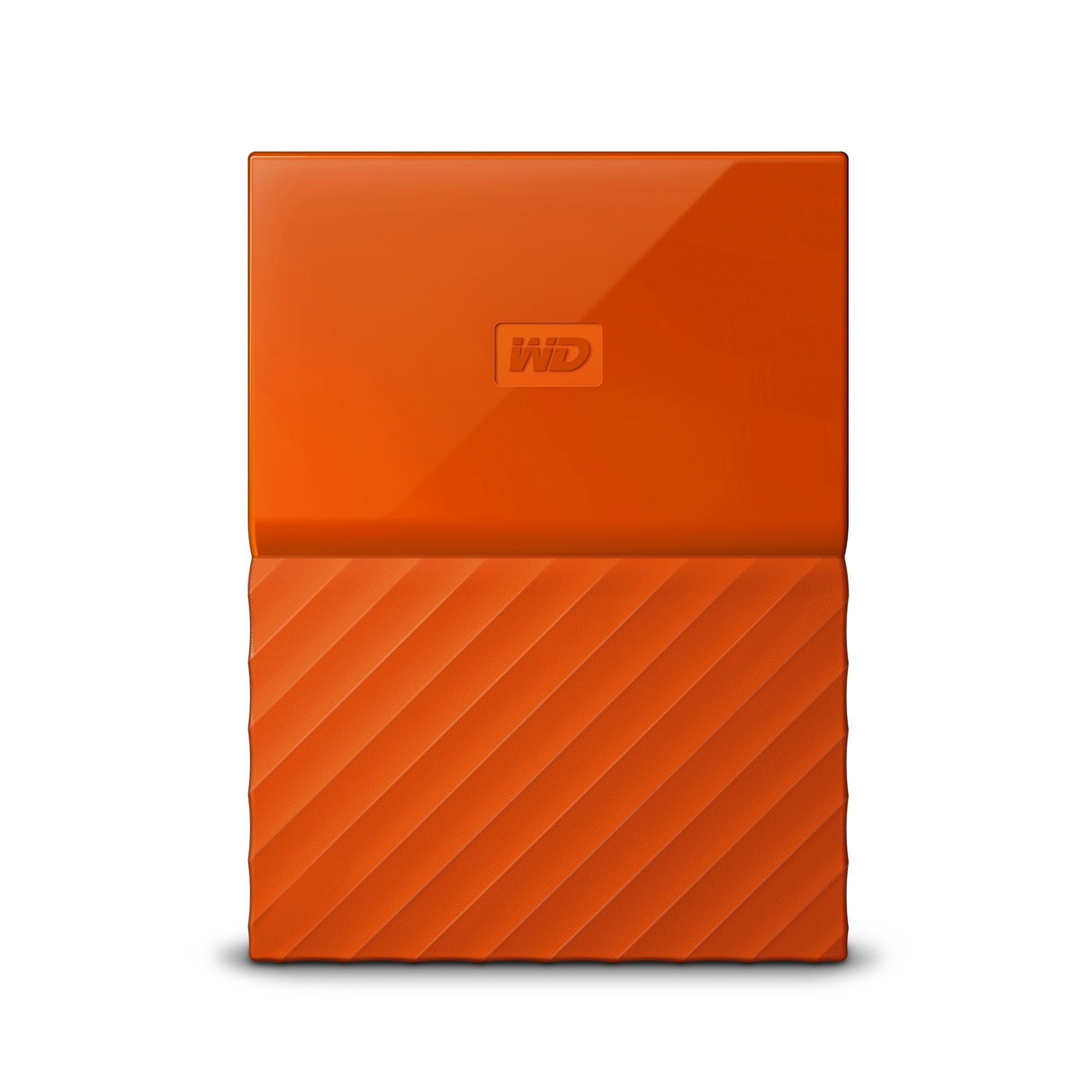 Western Digital My Passport 1000GB Orange external hard drive