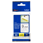 Brother TZE-S121 P-Touch Ribbon, 9mm x 8m