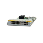 ALLIED High Density 40 ports 10/100/1000TX Rj.5 line card for SBx8112. Requires RJ.5 cables