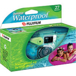 Fujifilm QuickSnap Marine Compact film camera Multicolor