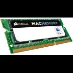 Micron Crucial 4GB DDR3 1600 MT/s (PC3-12800) CL11 SODIMM 204pin 1.35V/1.5V for Mac [CT4G3S160BM]