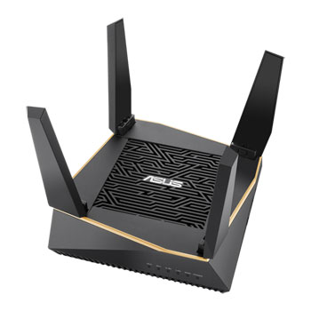 ASUS AX6100 Tri-Band whole home mesh wifi system for large and multi-story homes, supports flexible SSID