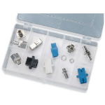Black Box FO217 12pcs fiber optic adapter
