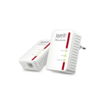 AVM FRITZ!Powerline 510E Set, DE 500Mbit/s Ethernet LAN White PowerLine network adapter